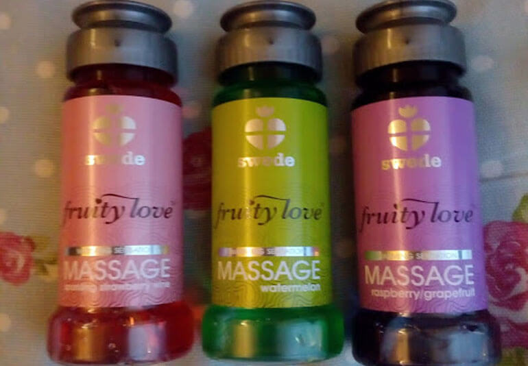 Massage-Set Fruity Love