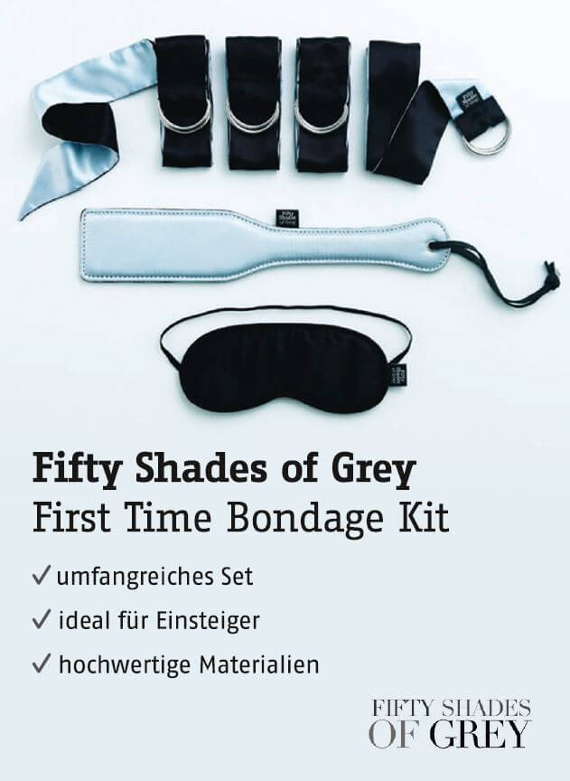 Fifty Shades of Grey - First Time Bondage Kit