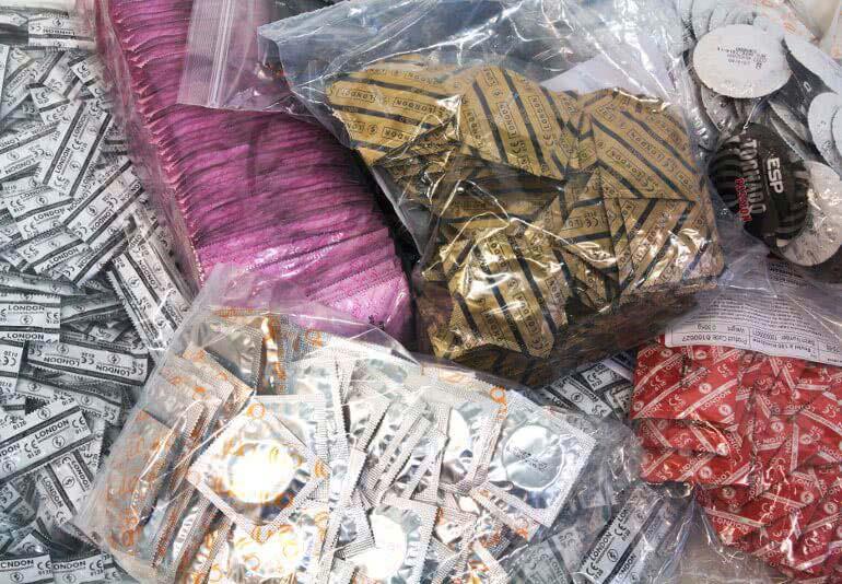 Kondome für Großverbraucher